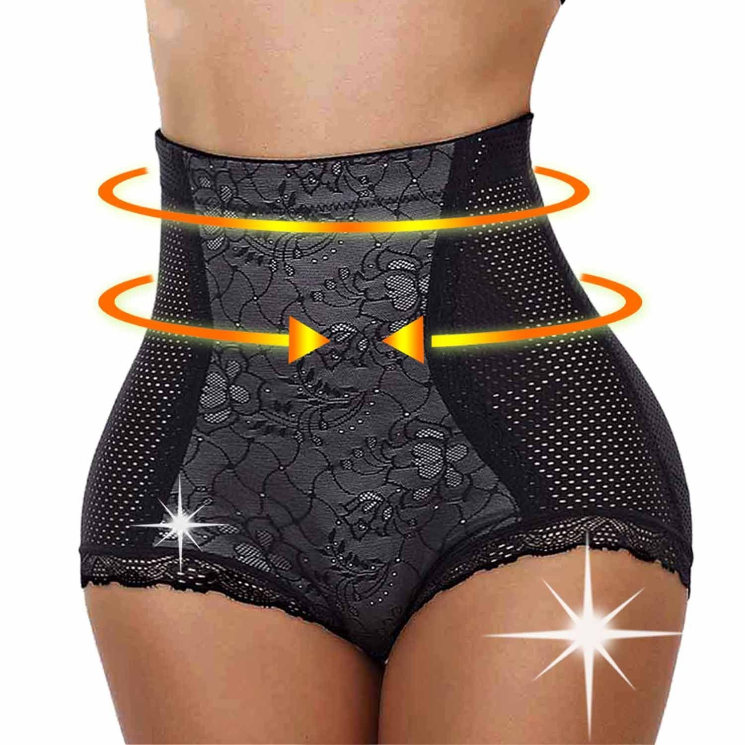 TAILONG Women Hip Enhancer Butt Lifter Panty Thigh Slimmer Boy Shorts Control -- See this great image  : Plus size coats