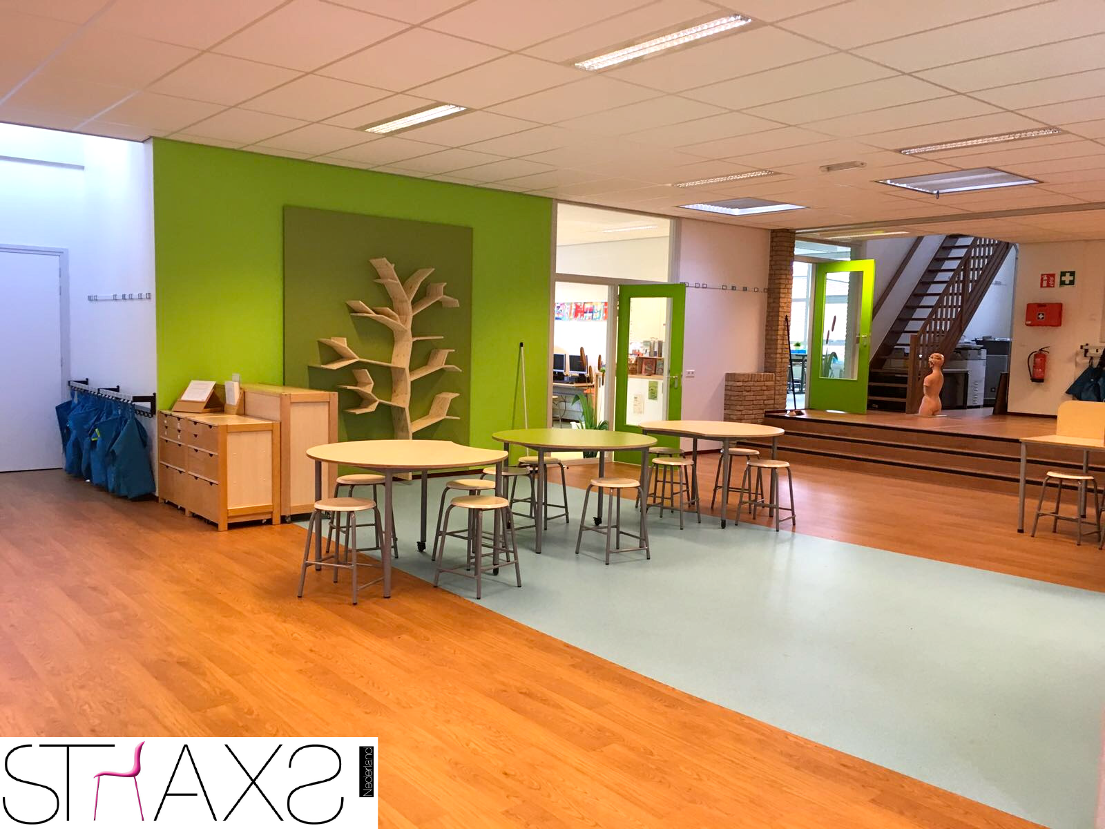 Straxs Nederland | De Stapsteen | Interieur | Interior | School ...
