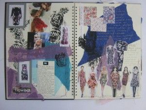 How To Create A Fashion Journal Fashion Sketch Book Textiles Sketchbook Fashion Design Sketchbook Sketch Book