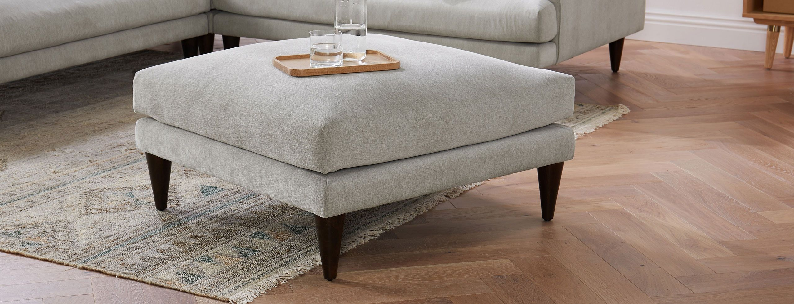 Lewis Ottoman Ottoman Ottoman Coffee Table Living Furniture