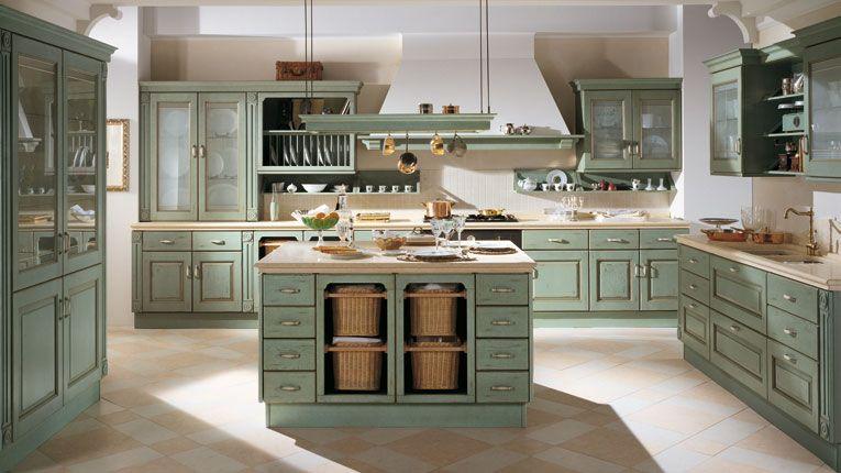 Belvedere geçmişin bir aile hayatının cazibesi | Mutfak ...