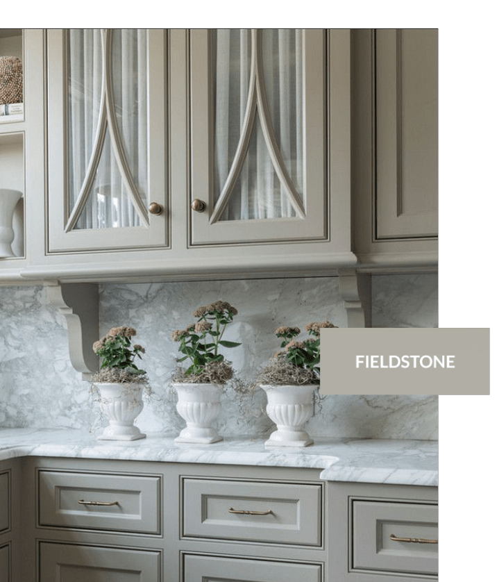 Benjamin Moore Fieldstone | Kitchen cabinet colors ...