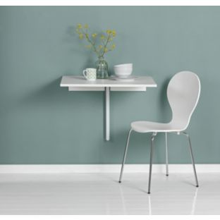 Buy Wall Mountable White Dining Table at Argos.co.uk ...