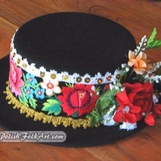 Easter bonnet? Polish folk costume.