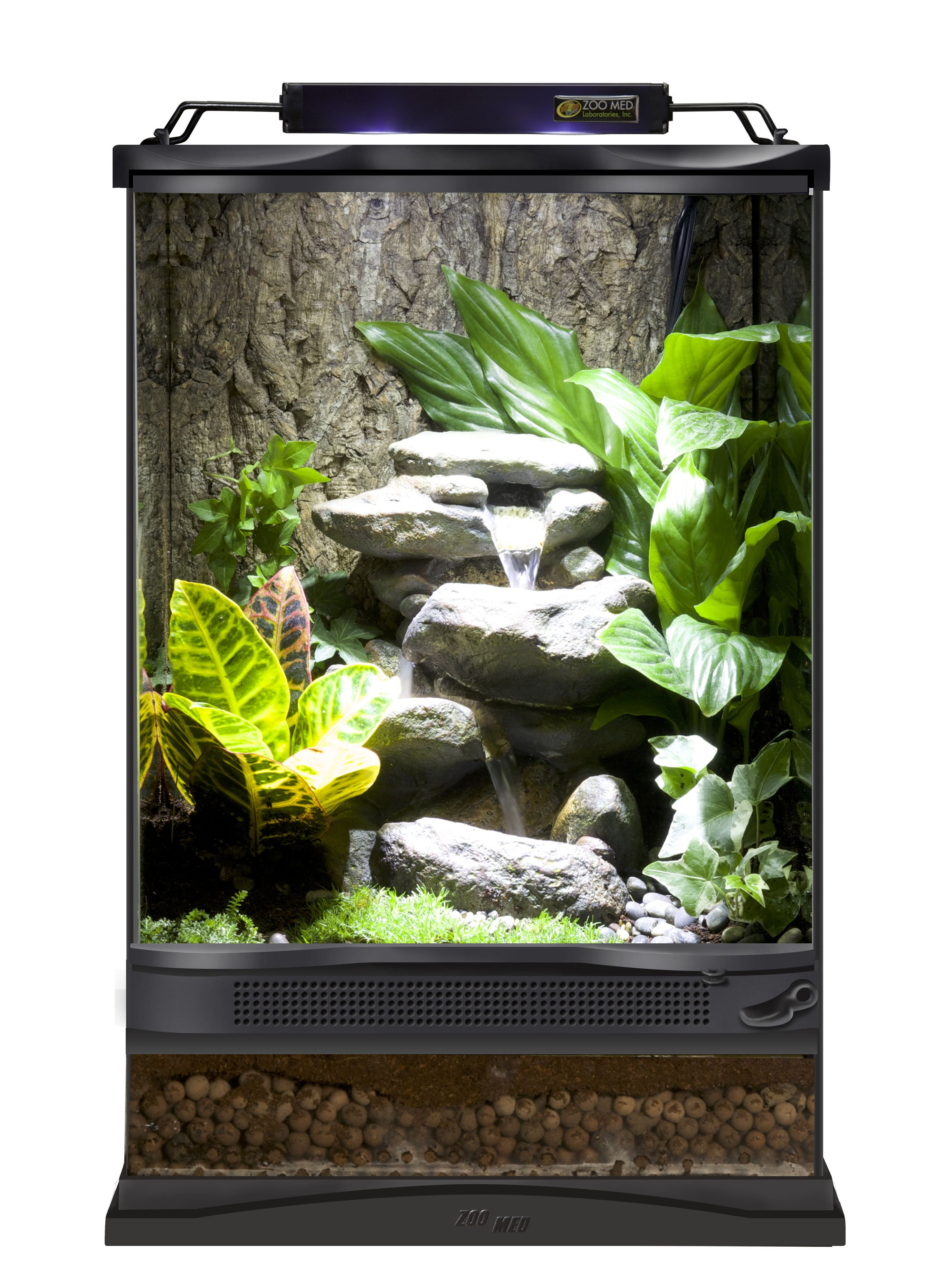 Repti Rapids 174 Led Waterfall Small Rock Террариум