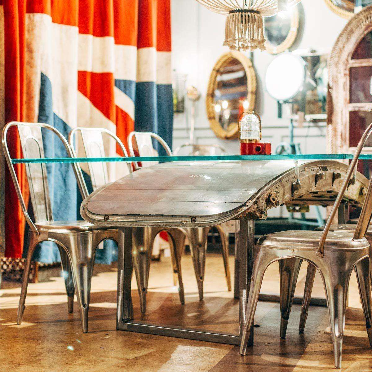 Room 24e Airplane Dining Table Hatch DoorCustom
