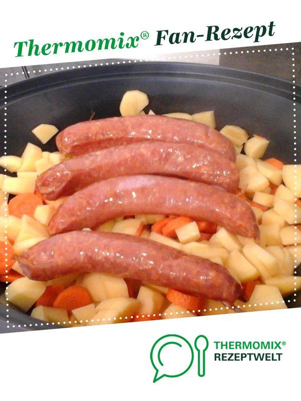 Möhreneintopf mit Mettenden von TMQueen1234. Ein Thermomix Rezept aus der Kategorie Hauptgerichte mit Fleisch auf www.rezeptwelt.de, der Thermomix Community.