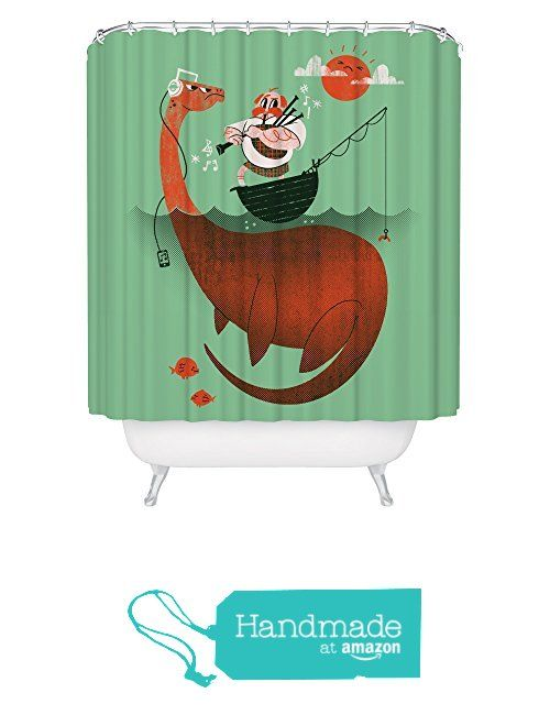 Robot Check Funny Shower Curtains Kids Shower Curtain Nautical