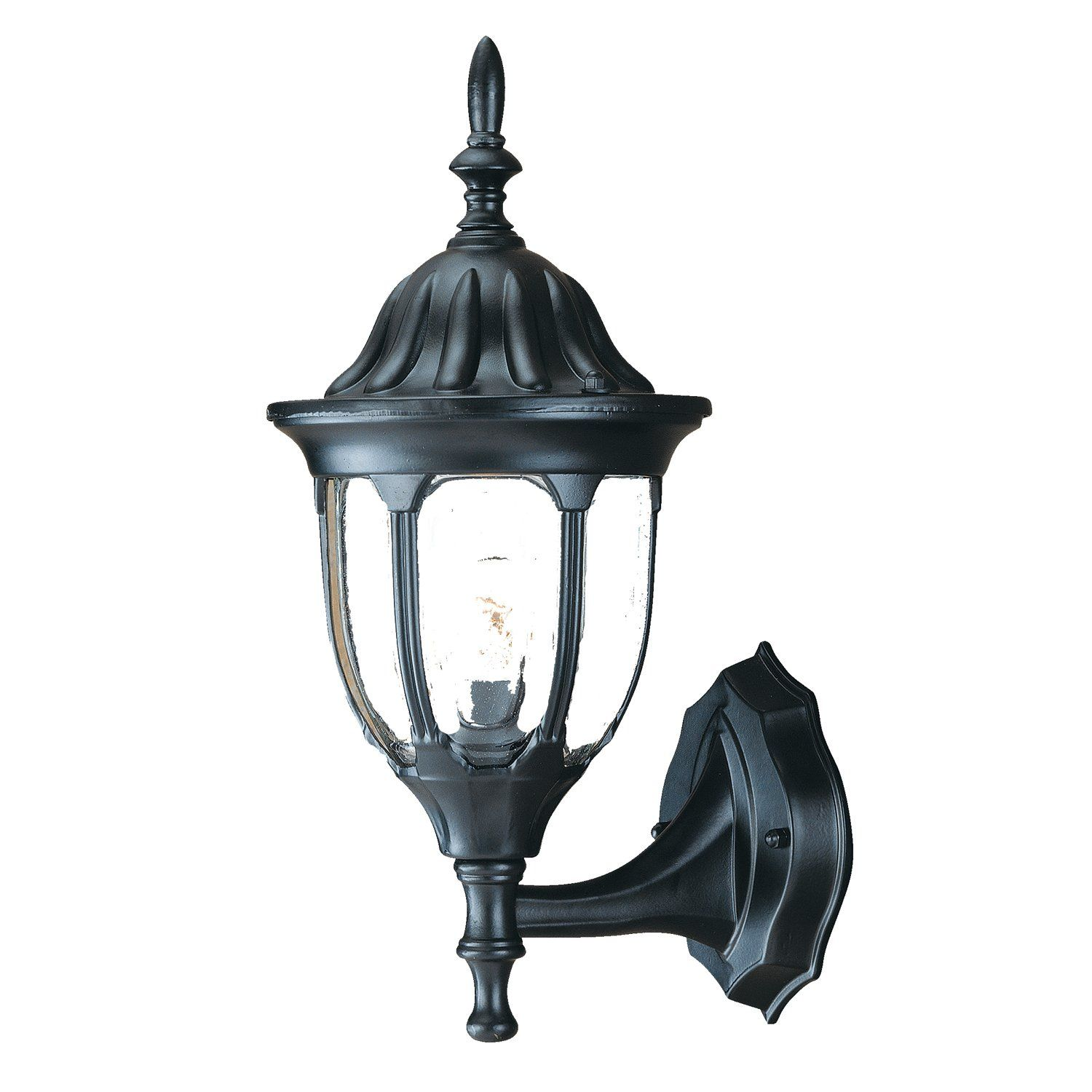 Acclaim Lighting 5060BK Suffolk Small Outdoor Sconce Width 6¾ inches