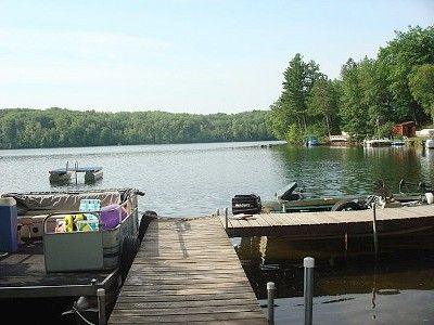 Rhinelander cottage rental - Dock