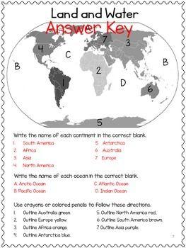 Map Skills: Social Studies! Cardinal Directions, Symbols! No PREP ...