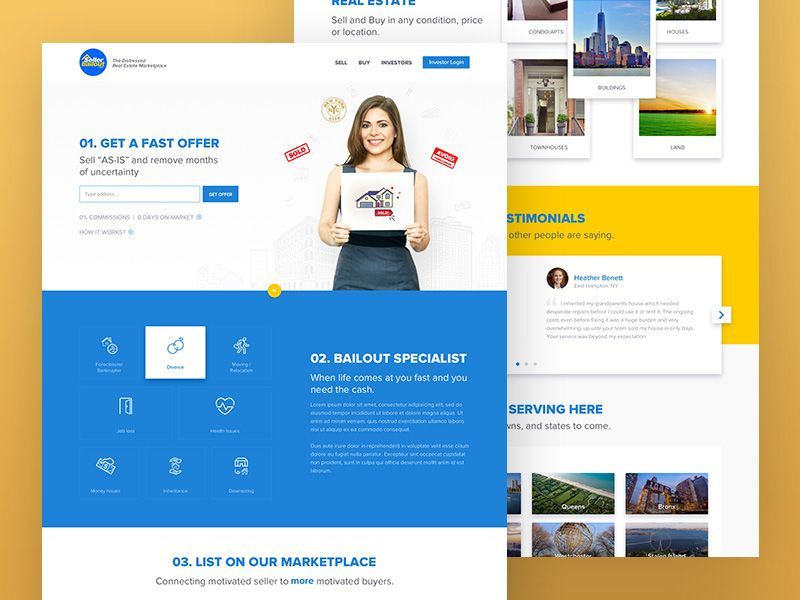 Seller Bailout Website | web design | Pinterest | Website and Template