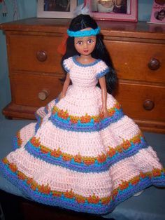 Bed doll - CROCHET
