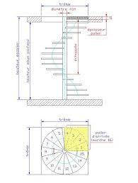 image result for escalier circulaire dimensions palier de. Black Bedroom Furniture Sets. Home Design Ideas