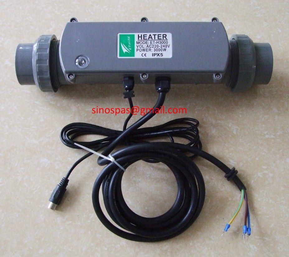 E-Think ET-H3000 HeatSmart hot tub & bathtub heater for Chinese ...