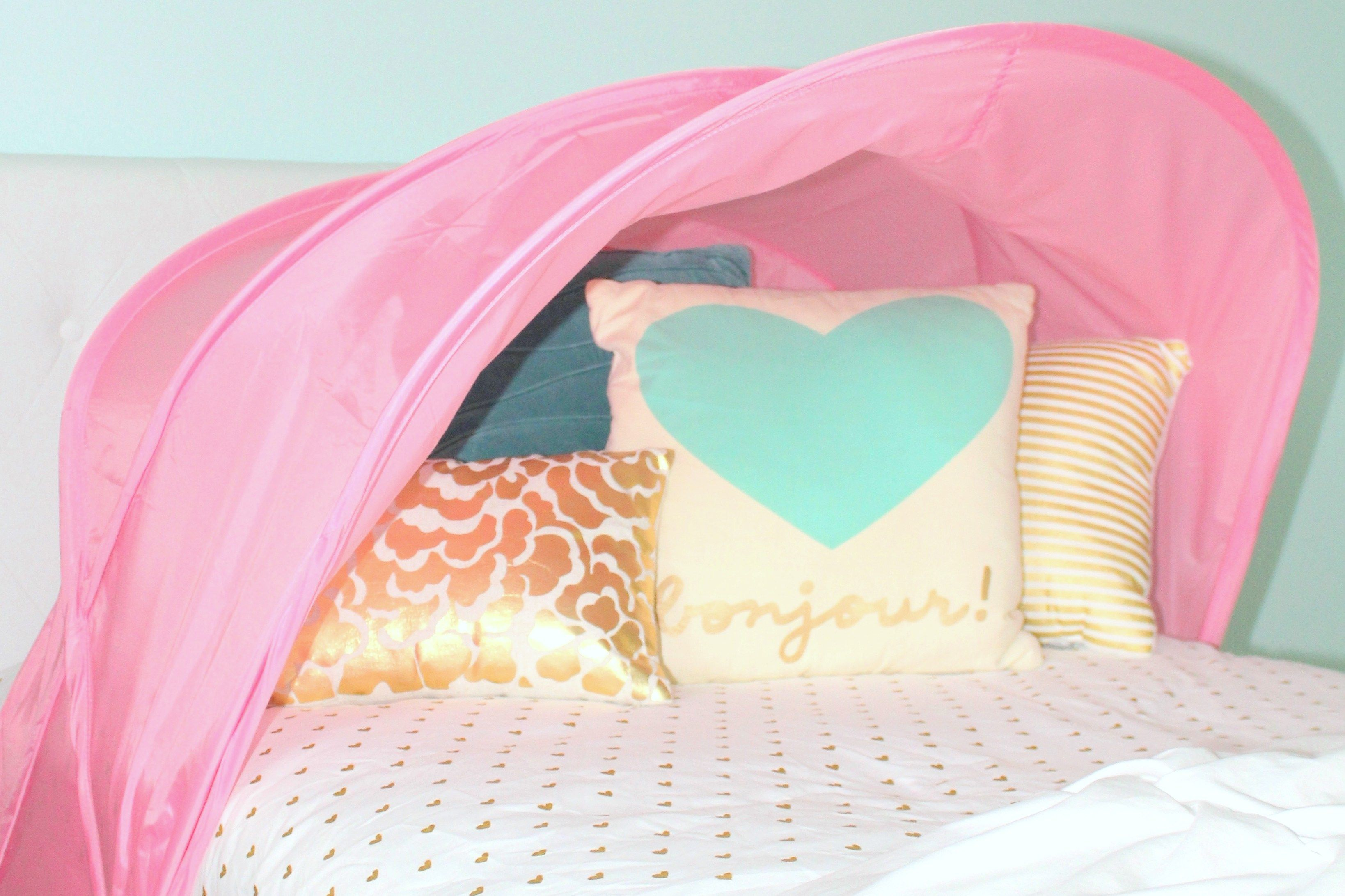 Children S Bed Tent Bed Tent Pink Toddler Bed Kids Bed Tent