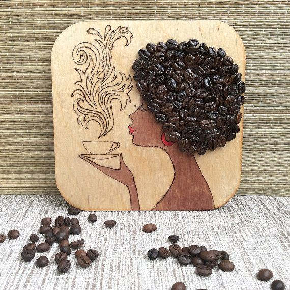 To fans of coffee it is devoted.  You can give them to someone else as a gift or hang them on your refrigerator. Cute leaving gift!! Sturdy,