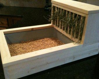 R telier pour caisse liti re bricolage lapins for Fabriquer un clapier a lapin