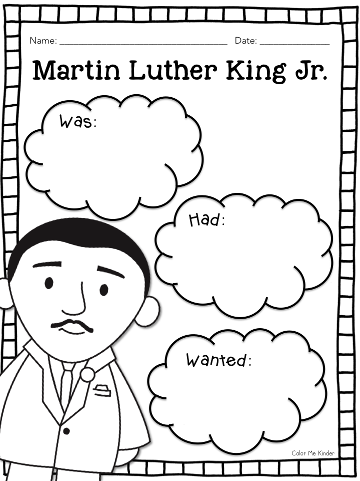 Color Me Kinder Martin Luther King Jr Was A Man Of Peace