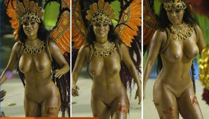 фото голых девушек карнавала рио