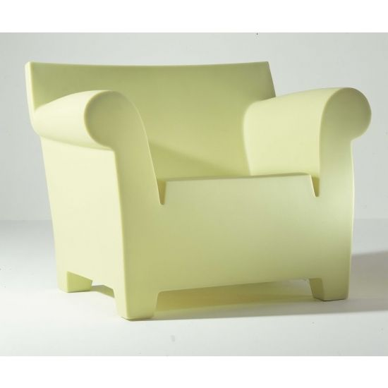 Wonderful Kartell Bubble Club Armchair. Boston Legal   William Shatner And James  Spader Balcony Cigar Chair