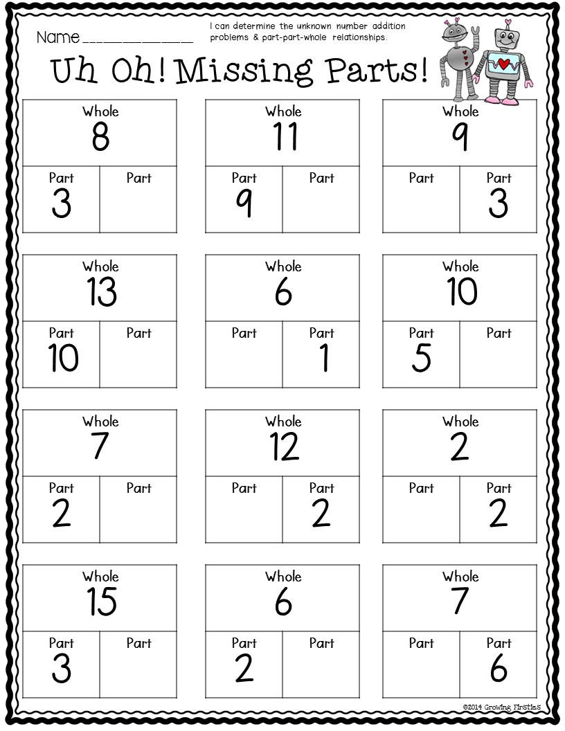 February Math \u0026 ELA Printables   February math [ 1056 x 816 Pixel ]