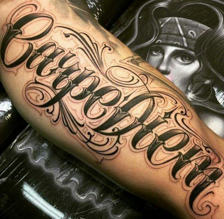 Discover Ideas About Lettering Tattoo