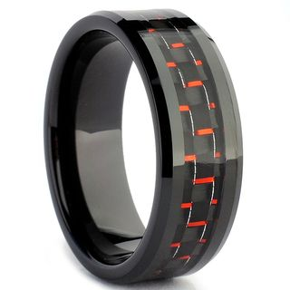 Carbon Fiber Mens Ring.