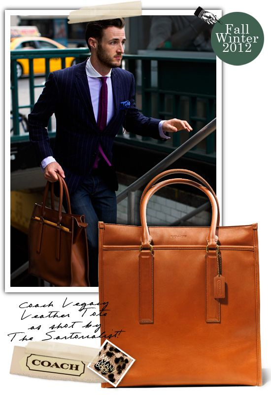 My MANy Bags, Coach leather tote