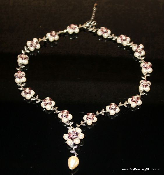 how to make jewelry, beading pattern, Jewelry making classes ...