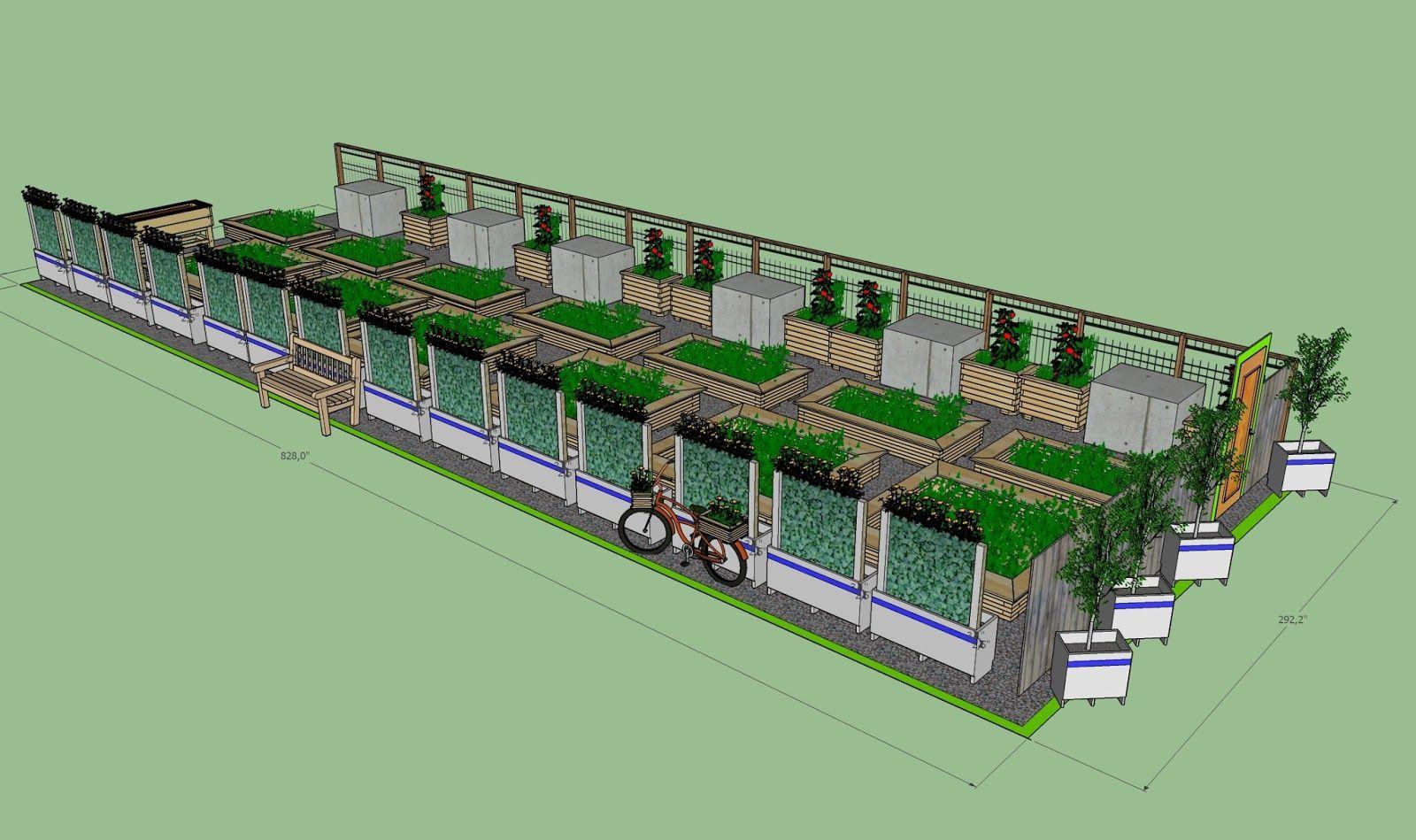 Bien vivre à Saint-Roch : Nouveau jardin collectif à Saint-Roch: installation le 28 mai prochain
