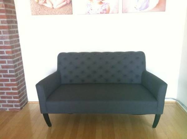 West Elm Settee 500 Modern End Tables Crate And Barrel Living Room Chairs