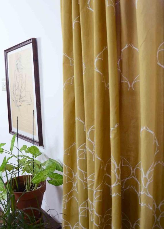mustard yellow window curtains sample sale bohemian curtains drapes rh pinterest com