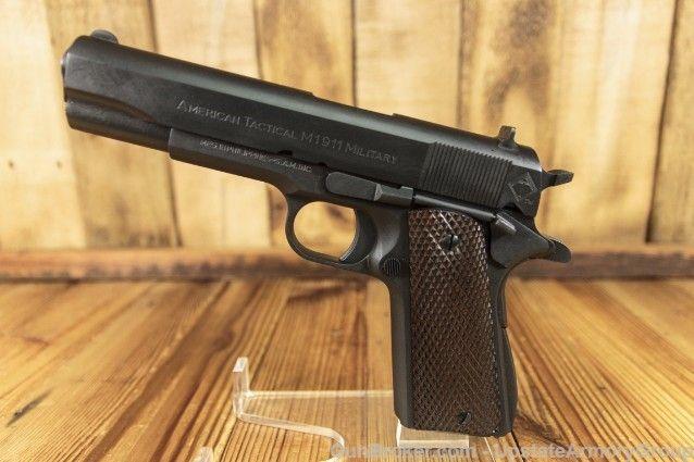 "ATI Military 1911 .45 ACP 7+1 5"" ATIGFX45MIL LOOK : Semi Auto Pistols at GunBroker.com"
