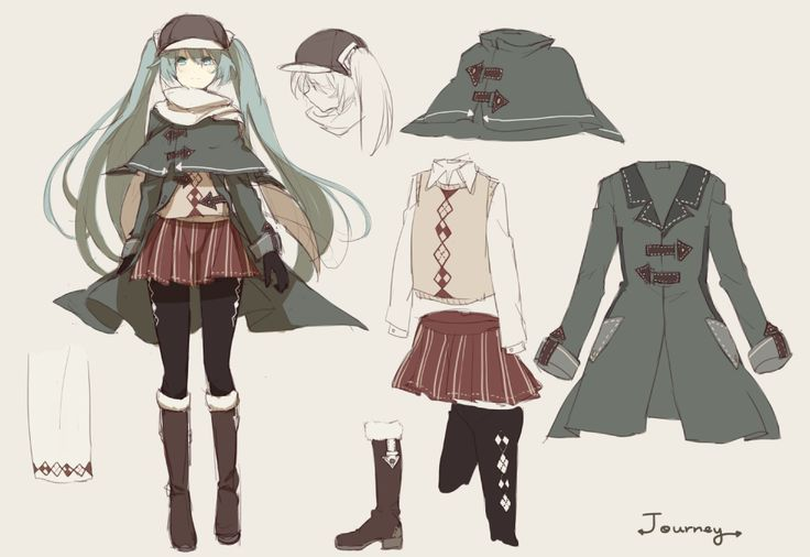 Fantasy Hunter Outfit Uniform Drawing Google Search Things To Wear Pinterest Hunters