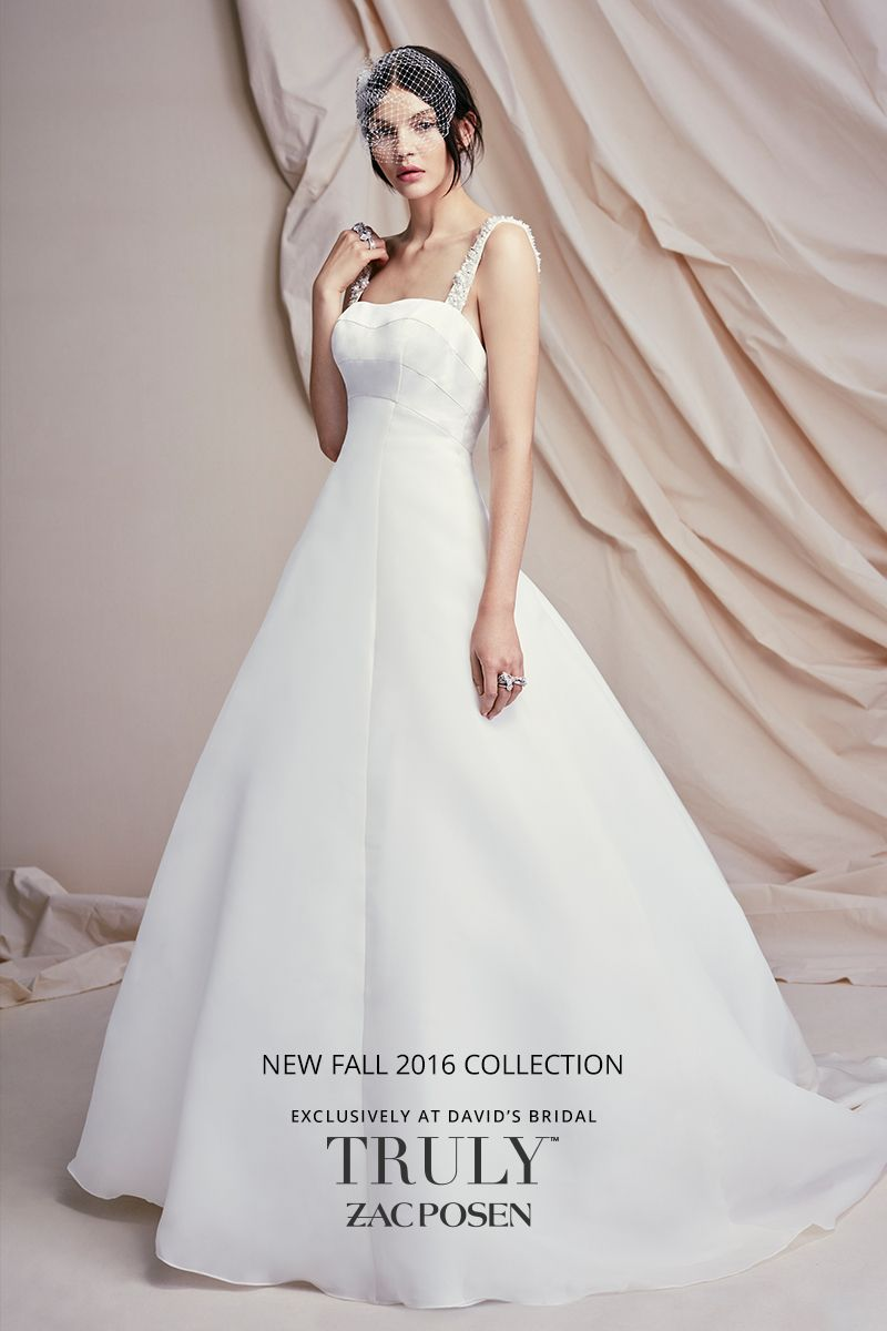 Zac posen wedding dress  Brand new Truly Zac Posen designer wedding dresses have arrived at