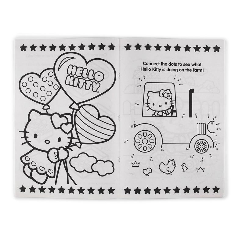 Sanrio Hello Kitty Jumbo Coloring Book Hollar So Much Good Stuff Sanrio Hello Kitty Coloring Books Hello Kitty