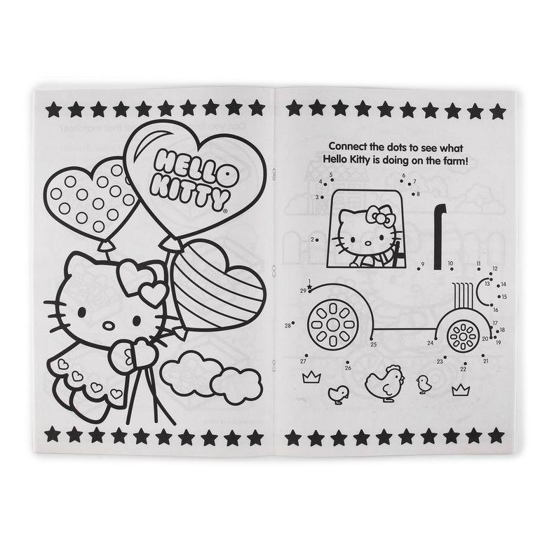 Sanrio Hello Kitty Jumbo Coloring Book Hollar So Much Good Stuff Sanrio Hello Kitty Hello Kitty Coloring Books