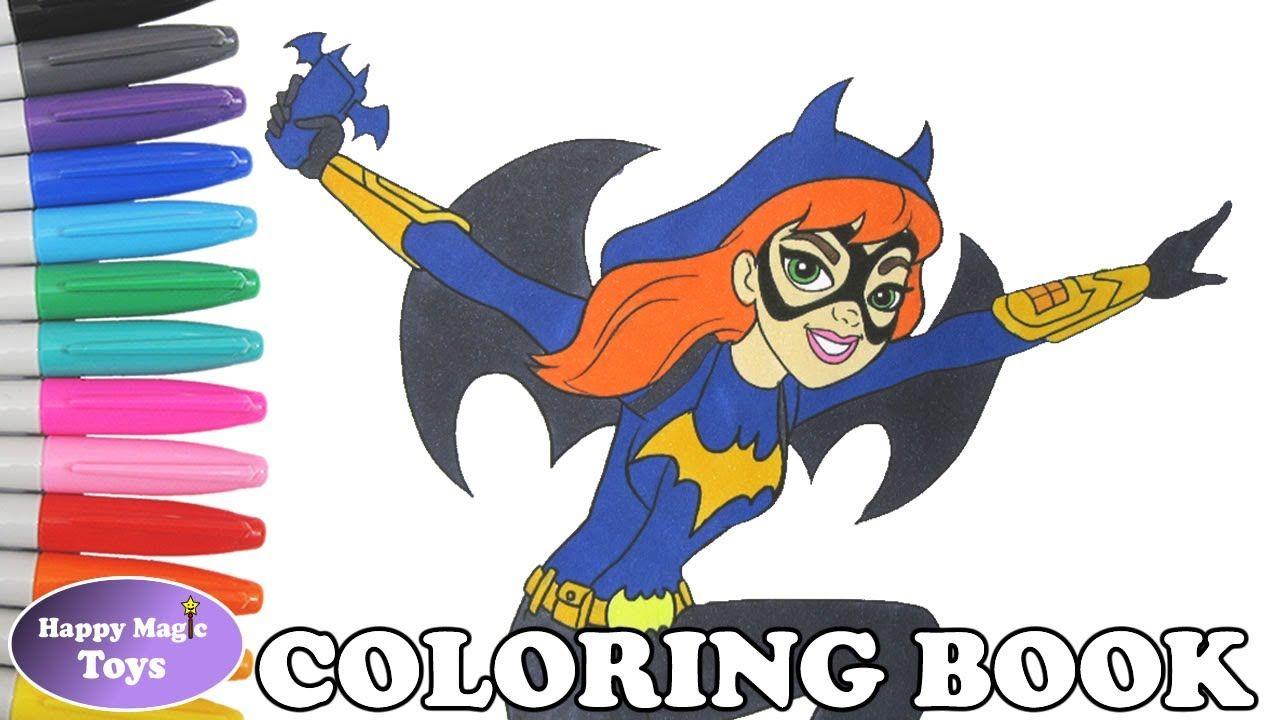 Dc Super Hero Girls Coloring Of Batgirl Dcsuperherogirls Batgirl