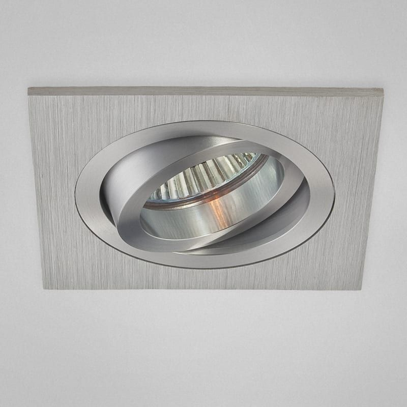 Eurofase Lighting 22750 3 1 4 Inch Square Gimbal Recessed Trim Aluminum Recessed Lights Recessed Trims In 2020 Kitchen Recessed Lighting Lighting Direct Lighting