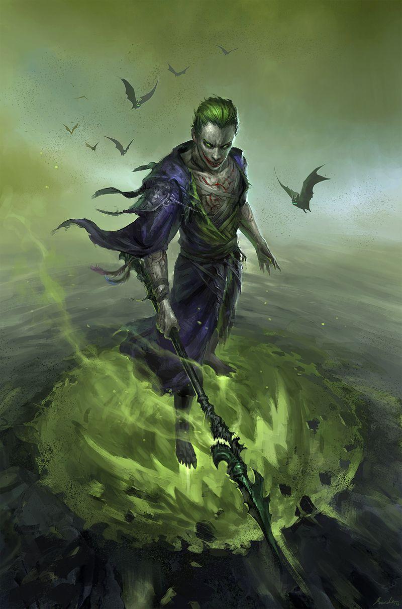 Joker Fan Art Painting