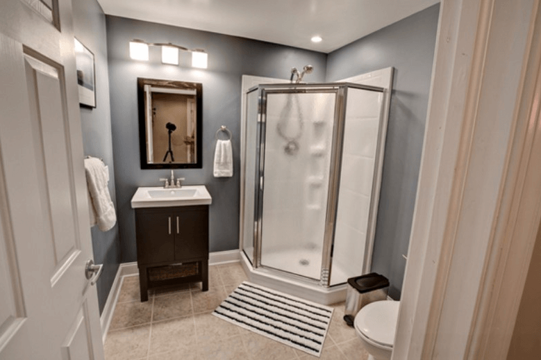 Basement Bathroom Ventilation Fan Basement Bathroom Remodeling Small Basement Bathroom Basement Bathroom