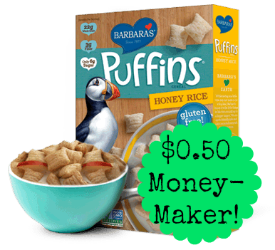 puffins honey rice Barbaras Puffins Cereal Moneymaker at ...