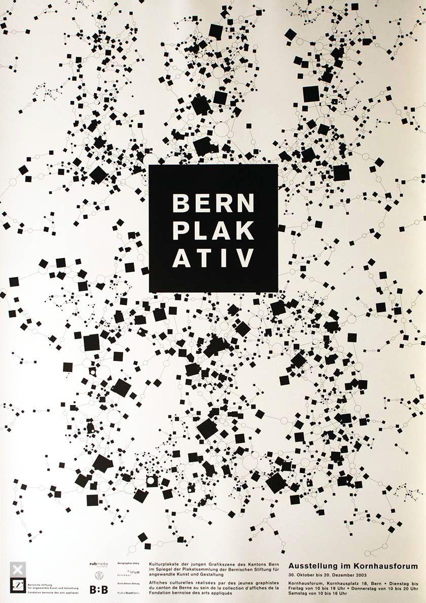 Stefan Guggisberg, Ramon Cruelles, Bern plakativ, Kornhaus Forum Bern