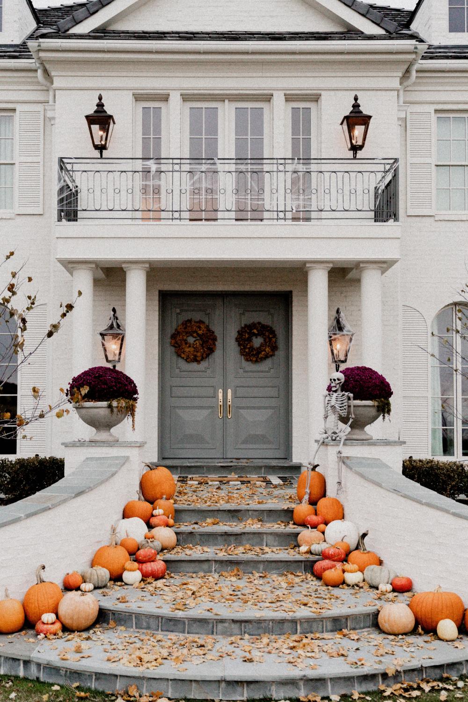 Happy Halloween Halloween front porch, Elegant holiday