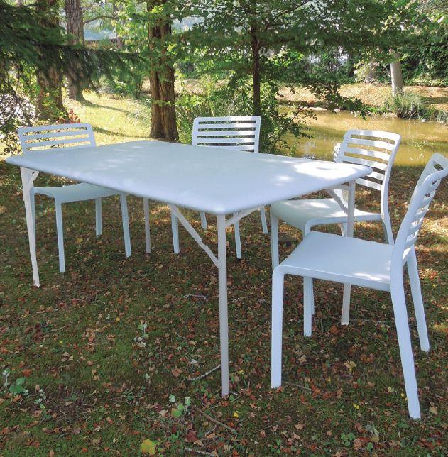 Mesa de exterior patas plegables mesa plagable terraza for Mesas plegables para terraza