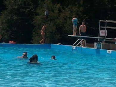 Having Fun At Blue Waters Pool In Faith Nc Visitsalisburync Blue Water Pool Places