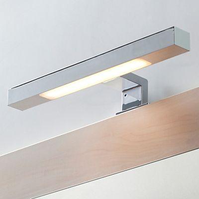 Theta Spot de salle de bains  LED en alu chromé L30cm