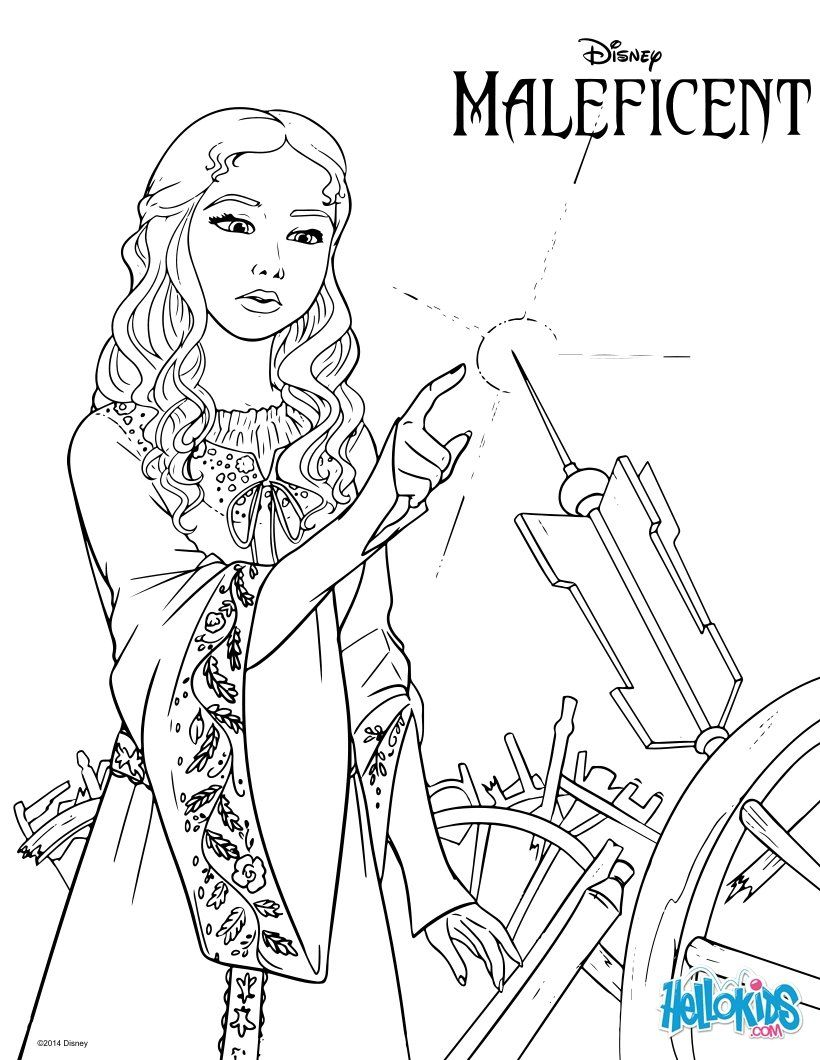 Maleficent coloring page törnrosa pinterest maleficent adult