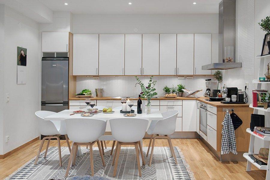54 M Nordicos Que Parecen El Doble Blog Tienda Decoracion Estilo Nordico Delikatissen Cocinas De Casa Decoracion De Comedor Salas Y Cocinas